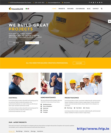 Housebuild-Joomla-Construction-Business-Theme