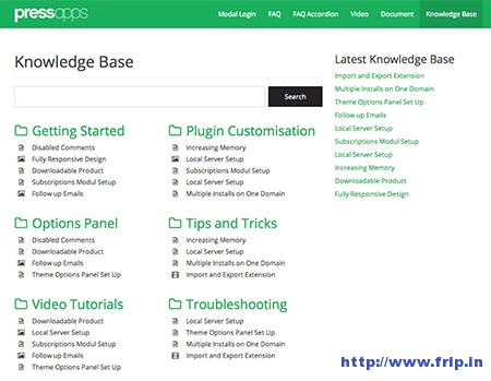 Knowledge-Base-Wiki-WordPress-Plugin