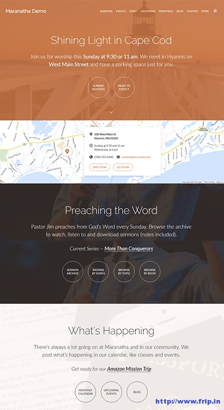 Maranatha-church-wordpress-theme