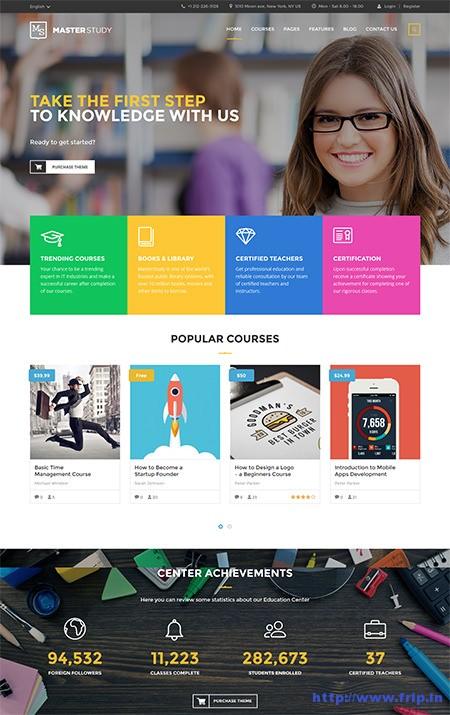 Master-Study-Education-Center-WordPress-Theme