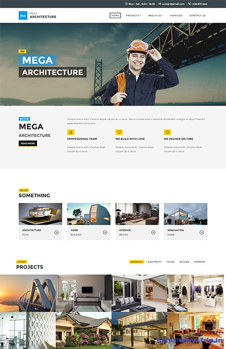 Mega-Architecture-Construction-Template