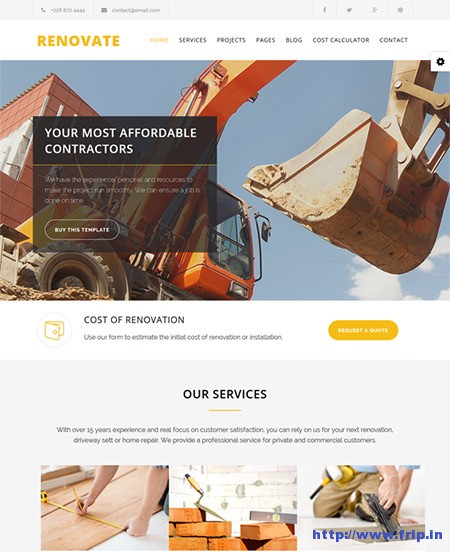 Renovate-Construction-Joomla-Template