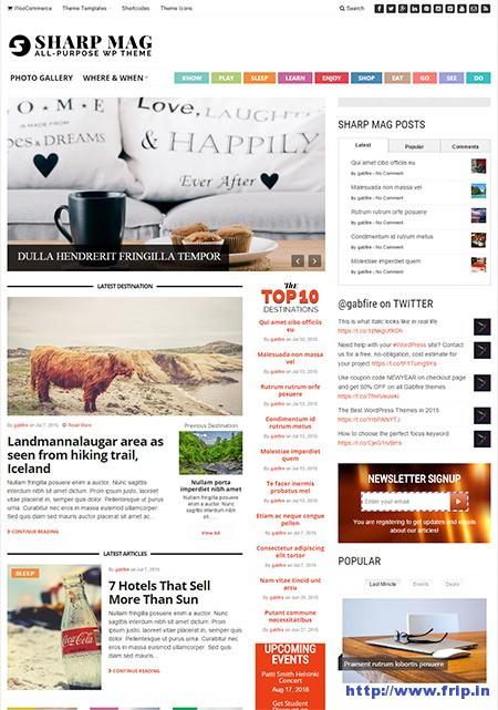 Sharp-magazine-wordpress-theme