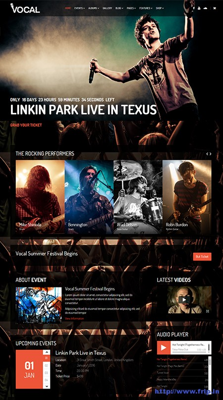 Vocal-Music-Event-WordPress-Theme