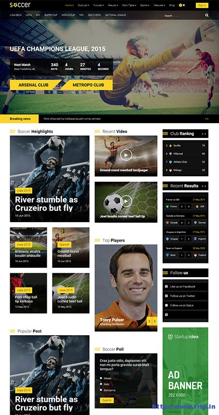 WP-Soccer-Team-Clubs-WordPress-Theme