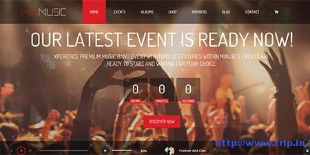 We-Music-–-Music-Band-WordPress-Theme