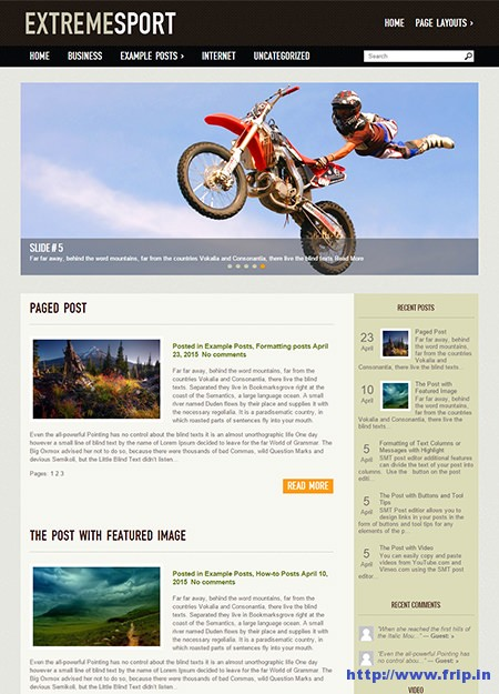 extreme-sport-wordpress-theme