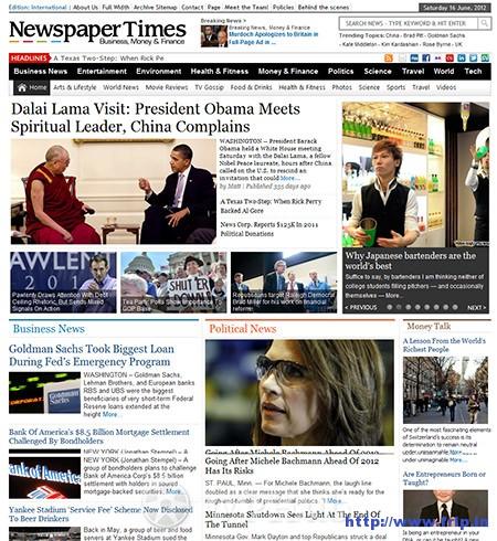 newspaper-times-wordpress-theme