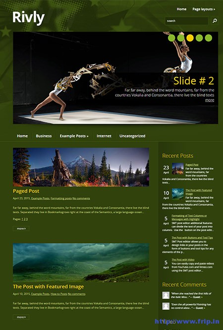 rivly-sports-wordpress-theme