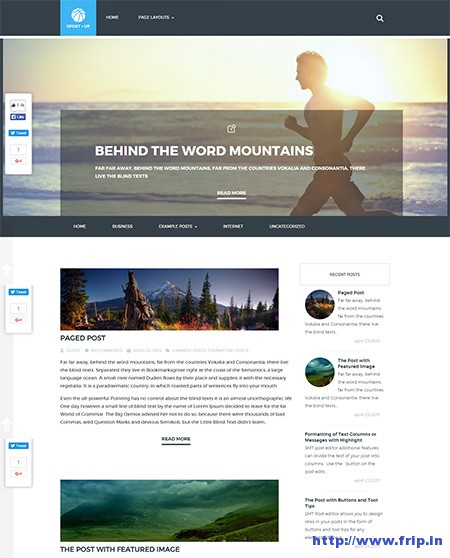 sportsup-wordpress-theme