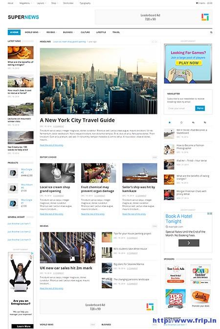 super-news-wordpress-theme