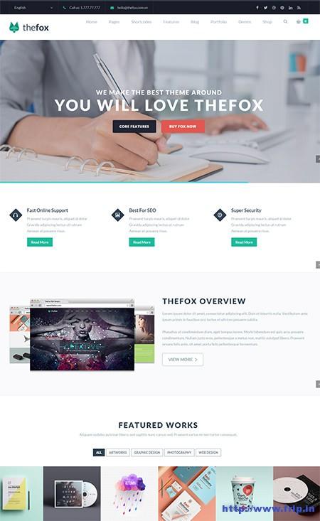 the-fox-multipurpose-wordpress-theme