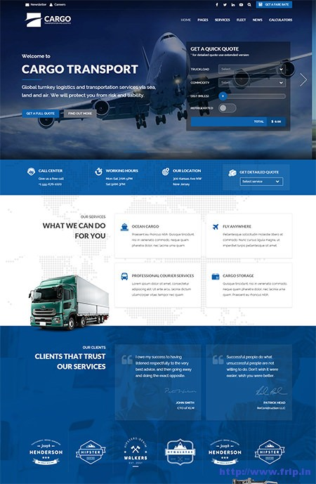 Cargo-Transport-Logistics-&-Home-Movers-Theme
