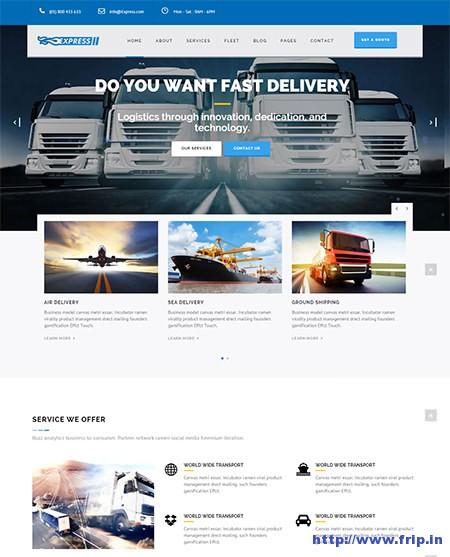 Express-Transports-&-Logistics-WordPress-Theme