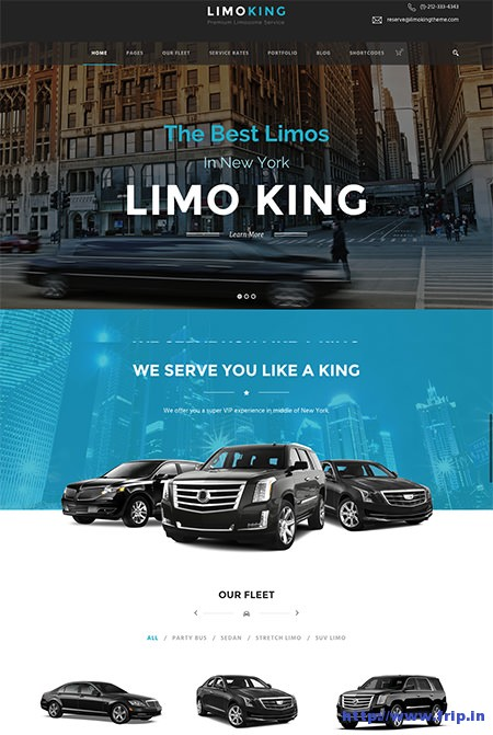 Limo-King-Transport-WordPress-Theme