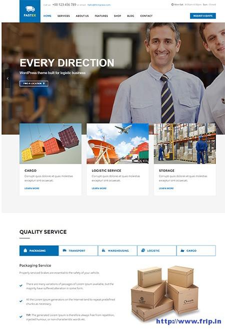 Transport-&-Logistics-WordPress-Theme