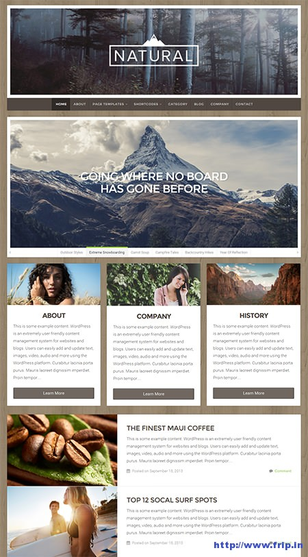 natural-multi-purpose-wordpress-theme