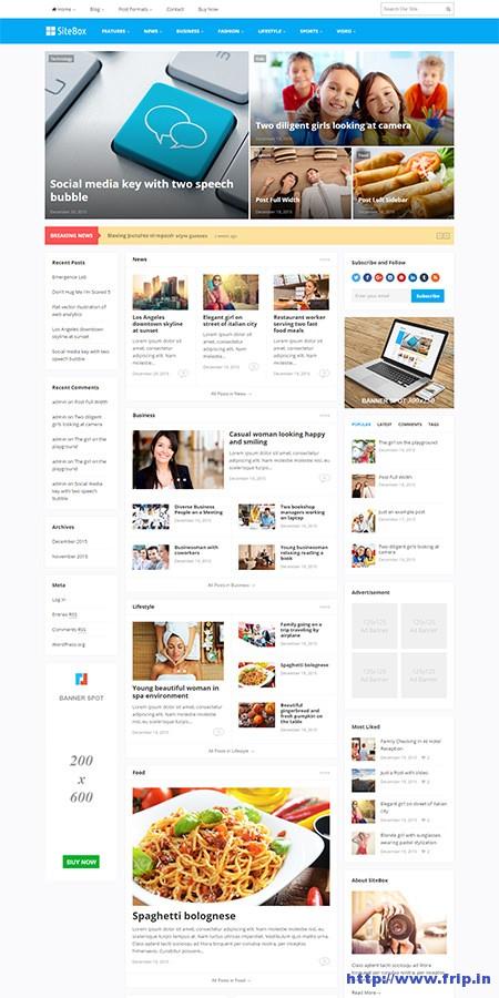 sitebox-magazine-wordpress-theme