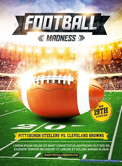 American-Football-Game-Flyer-Vol