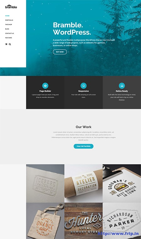 Bramble-WordPress-Theme