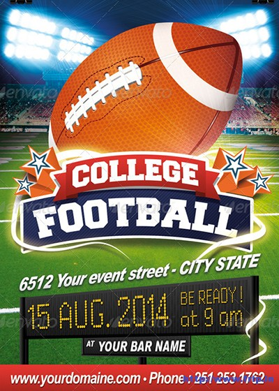 College-Football-Flyer