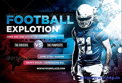 Football-Explotion-Flyer-Template