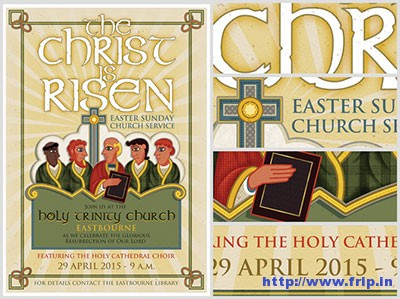 Illustrated-Church-Flyer-Template