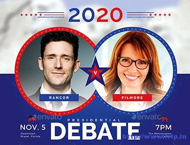 Political-Debate-Flyer-Template