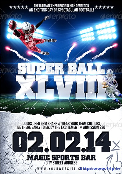 Super-Ball-College-Football-Flyer