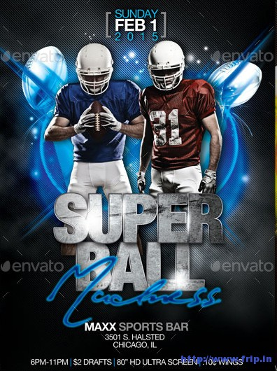 Super-Ball-Flyer-Template
