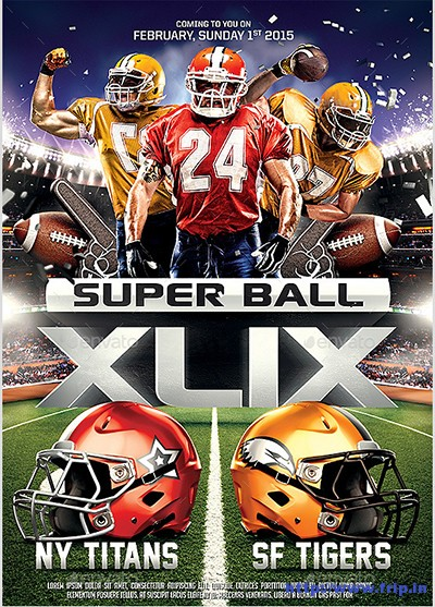 Super-Ball-Football-Party-Flyer-Template
