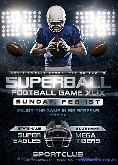 Superball-Game-or-College-Football-Flyer