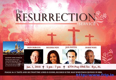 The-Resurrection-Flyer-Template