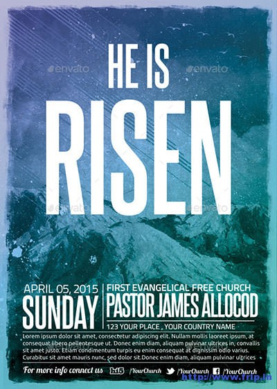 He-Is-Church-Flyer-Poster