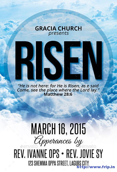 He-Is-Risen-Church-Flyer