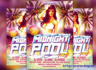 Midnight-Pool-Party-Flyer-Template