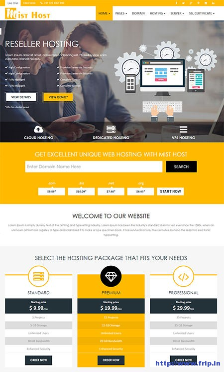Mist-Host-WordPress-Hosting-Theme