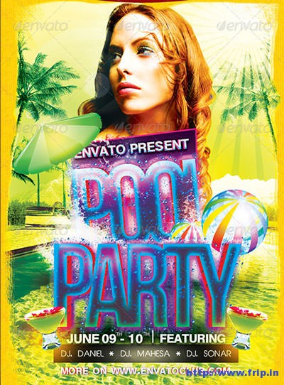 Pool-Party-A5-Flyer