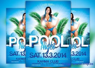 Pool-Party-Flyer-Templates
