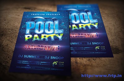 Pool-Party-Flyerrs