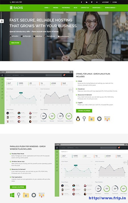 Racks-Hosting-WordPress-Theme