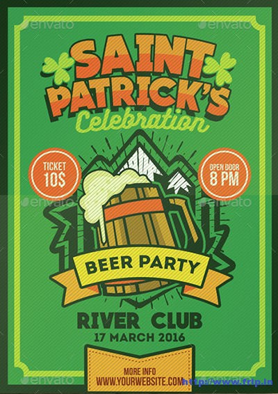 Saint-Patrick's-Beer-Party-Poster