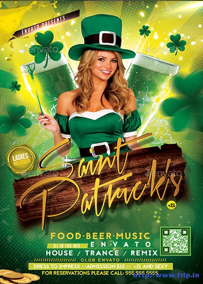 Saint-Patrick's-Party-Flyer