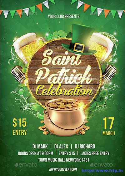 Saint-Patrick-Flyer-Vol02
