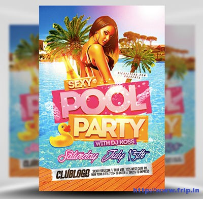 Sexy-Pool-Party-Flyer-Template