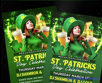 St-Patricks-Celebration-Flyer