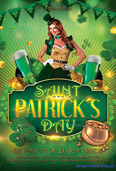 St-Patricks-Day-Flyer-Poster