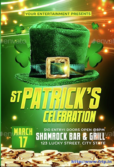 St-Patricks-Flyer-Template