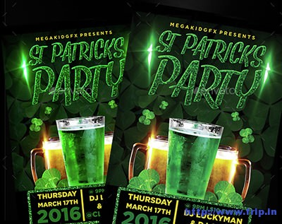 St-Patricks-Party-Flyer-Template