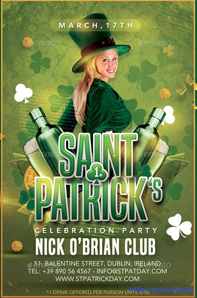 St-patrick-day-flyer
